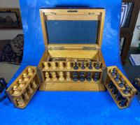 Victorian Pine Partially Fitted Games Box (32 of 32)
