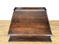 19th Century Antique Oak Table Top Writing Slope (5 of 8)