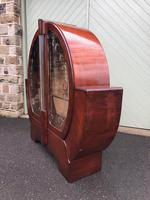 Art Deco Walnut Display Cabinet (8 of 11)