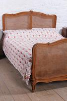 King Size Louis XV Style Caned Bed (5 of 9)