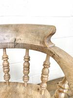 Pair of Antique Smoker's Bow Chairs (9 of 10)