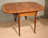 Sheraton Period 18th Century Pembroke Table (3 of 10)