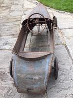 Vintage Eureka Bugatti Pedal Car Original 1930's (2 of 12)