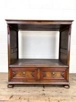 Vintage Oak TV Cabinet Chest (5 of 9)