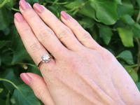 1.07ct Diamond & 18ct Yellow Gold Solitaire Ring - Antique c.1920 (2 of 9)