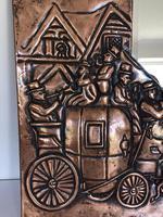 Unusual Arts & Crafts Rectangular Copper Mirror (7 of 7)