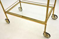Vintage French Brass Drinks Trolley (8 of 10)