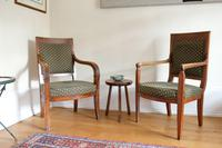 Pair of 19th Century French Walnut Armchairs (15 of 21)