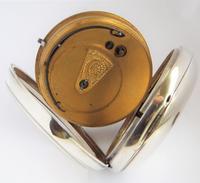 Antique Silver H Samuel Pocket Watch, 1890 (4 of 6)
