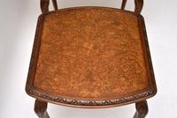 Antique Burr Walnut Nest of Three Tables (3 of 10)