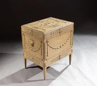 19th Century Painted Carton Pierre Chest / Cellaret in the Adam Neoclassical Style (10 of 15)