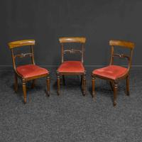Set of Three William IV Rosewood Chairs (2 of 6)