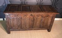 18th Century Oak Coffer (2 of 13)