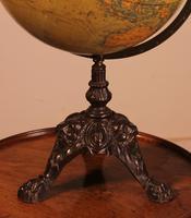 Terrestial Globe From J.lebègue & Cie Circa 1890 From Paris (11 of 12)