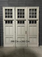 Incredible Set of 3 19th Century French Chateau Doors (2 of 17)