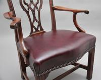 19th Century Mahogany Chippendale Style Chair (7 of 7)
