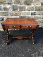 Antique Walnut Sofa Table