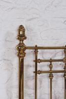 Handsome Super King Size Victorian all Brass Bed (9 of 12)