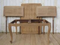 Bleached Oak Draw Leaf Dining Table (2 of 6)