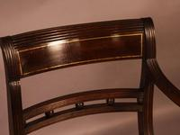 Good Set of 8 Regency Period Dining Chairs in Mahogany (12 of 13)