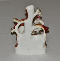 19th Century Staffordshire Spill Vase of a Courting Couple (4 of 5)