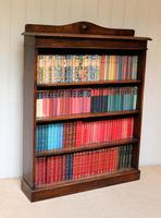 Oak Open Bookcase c.1910 (9 of 10)