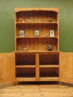 Antique Rustic Pine Country Kitchen Dresser (12 of 15)