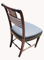 Superb Pair of Regency Side Chairs in Mahogany (6 of 6)