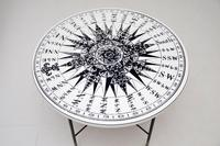 1960's Vintage Fornasetti Style Coffee Table (6 of 8)