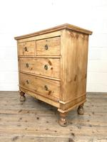 Small Victorian Pine Chest of Drawers (7 of 10)