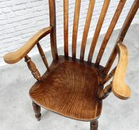 Large 'Grandfather' Windsor Lathback Armchair (5 of 6)