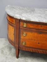 Dutch Marble Top Burr Elm Commode / Chest (3 of 13)