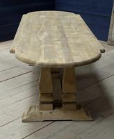 Huge French Bleached Oak Monastery Dining Table (25 of 30)