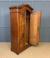19th Century Burr Walnut Wardrobe (8 of 16)