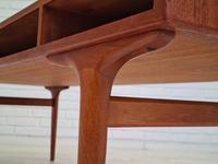 Danish Sofa Table, Teak Wood, Original Very Good Condition 1960s (16 of 16)