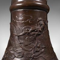 Antique Jardinière Stand, Japanese, Bronze, Plant, Side Table, Edo Period c.1850 (8 of 12)