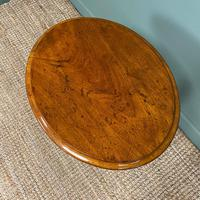 Victorian Mahogany Antique Occasional Lamp Table (2 of 5)