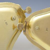 Fine Pair Of Edwardian Silver Gilt Sauce Boats (9 of 11)
