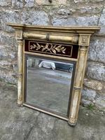 Regency Gilt Pier Mirror With Red Velvet Panel (2 of 7)