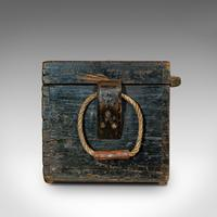 Antique Shipwright's Chest, English, Craftsman's Tool Trunk, Victorian, 1900 (6 of 12)