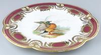 Fine & Rare Colebrookdale Porcelain John Rose Cabinet Plate 19th Century (2 of 5)