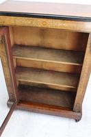 Victorian Walnut Pier Cabinet / Bookcase (6 of 13)