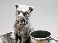 Victorian Novelty Silver Figural Terrier Dog Table Lighter,  by James Barclay Hennell, London, 1881 (9 of 17)