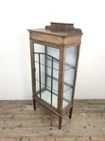 Edwardian Inlaid Mahogany Display Cabinet (7 of 10)