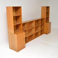 1950's Vintage Oak Stacking Bookcase by Unix (3 of 10)