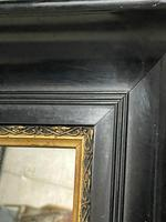 French Ebonised 19th Century Wall Mirror (11 of 16)