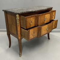 French 19th Century Marble Top Commode (9 of 11)