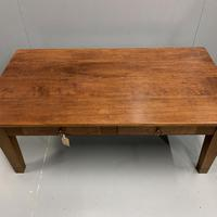 French Cherrywood Coffee Table with Drawers (5 of 5)