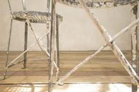 Charming Pair of Small French Metal Garden Chairs (9 of 13)