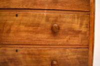 Large Antique Victorian Satinwood Chest of Drawers (4 of 16)